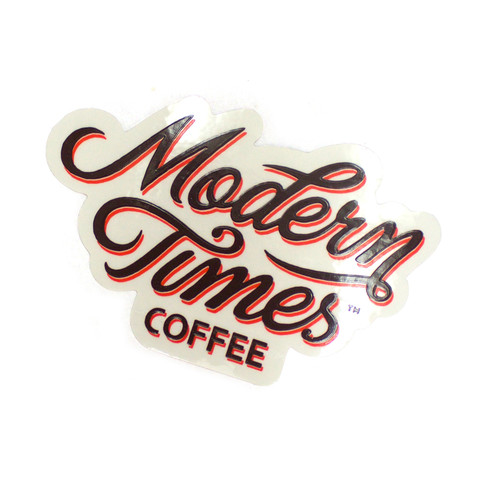 MODERN TIMES COFFEE STICKER