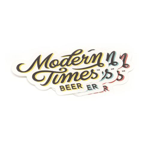 MODERN TIMES STICKERS - 3 PACK